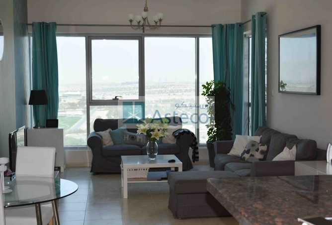 The living room in the two bedroom apartment in Skycourt Towers