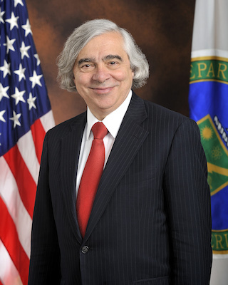 US Secretary of Energy Ernest J. Moniz