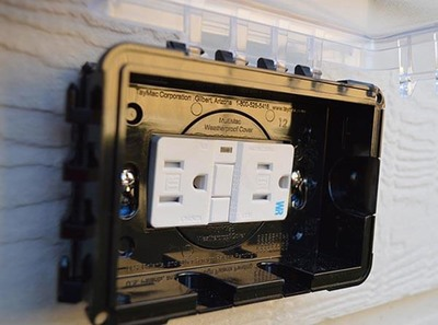 Older homes may need to have updated outlets for safety reasons.