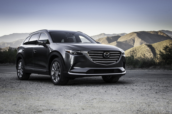 The CX-9 interior leans heavily toward the luxury spectrum. It's a reflection of the overall KODO design language, which means