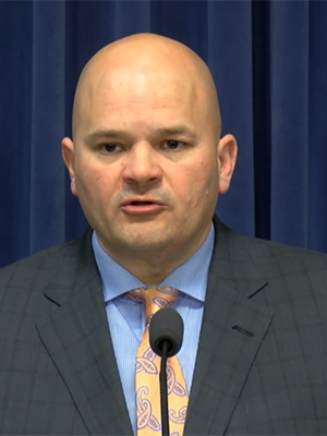 Illinois Manufacturers' Association Chief Operating Officer Mark Denzler