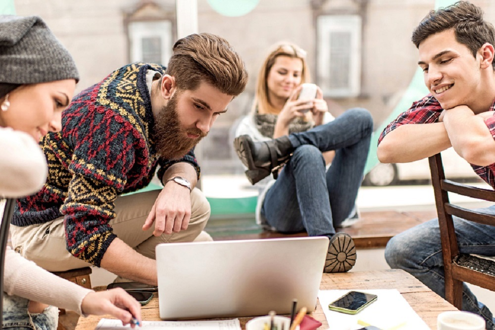"""Over 60 percent of Millennials are """"extremely/somewhat nervous"""" about the direction they are headed in terms of finances."""