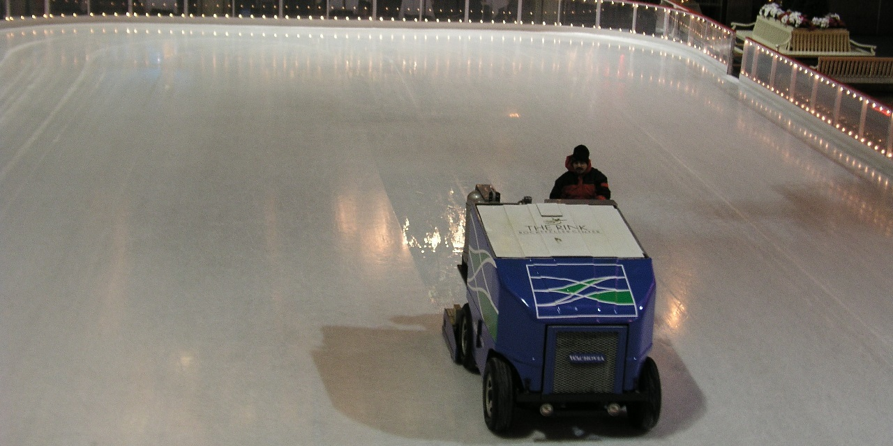 Ice rink mechanic fired after Zamboni accident can't sue