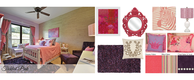 Interior designer Robin Bond created this look to grow with a girl who loves pink and princesses.