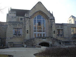 Northern Illinois University College of Law, Swen Parson Hall.