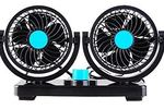 AboveTEK Dual Head Auto Cooling Air Fan