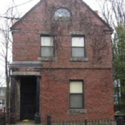 The house at 93 Benevolent St. now bears a plaque that recognizes its historic significance.