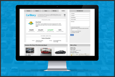 Market Reports are the most innovative and systematic approach for dealers to link visitors with the vehicles they want.