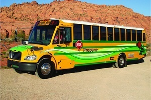 Medium propane sch bus
