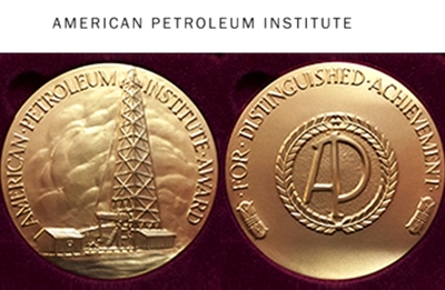 First presented in 1946 to Henry Ford, the award has been conferred annually.