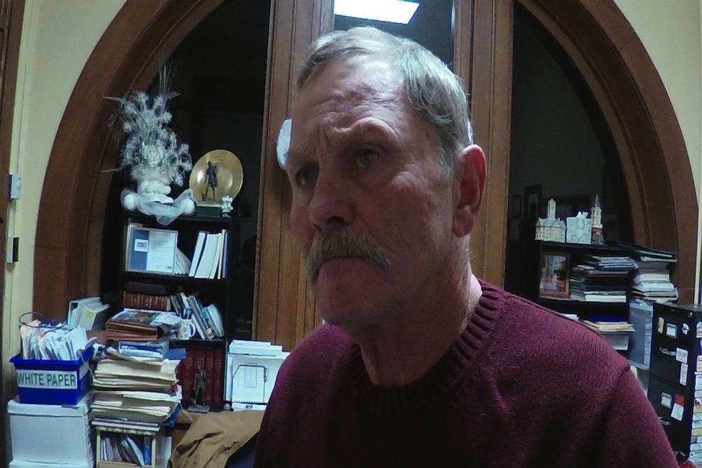 Christian County Chairman Timothy Carlson