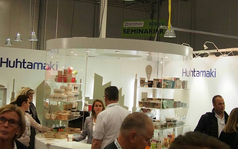 Huhtamaki has expanded its product line through a joint venture with OSHCO.