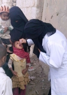 The World Health Organization was finally able to deliver polio vaccines to children in Yemen.