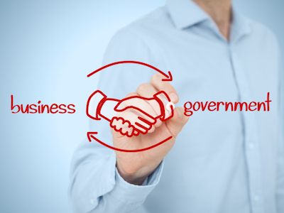 Lobbying patterns between businesses and governments