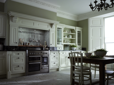 A classic kitchen is not necessarily a sacrifice in functionality.