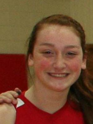 Benet Academy forward Brooke Schramek