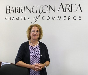 Barrington Chamber of Commerce introduces newly selected officers.
