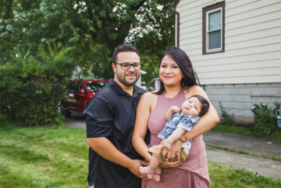 When Adan and Cynthia Villafranca were looking to buy their first house, they found that it was easier – and cheaper – to move across the border to Indiana.