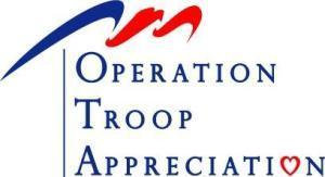 Olympic Paints brings holiday cheer to troops, vets via local volunteers.