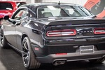 At last year's show, some modern cars, including a Dodge Challenger Hellcat, also participated.