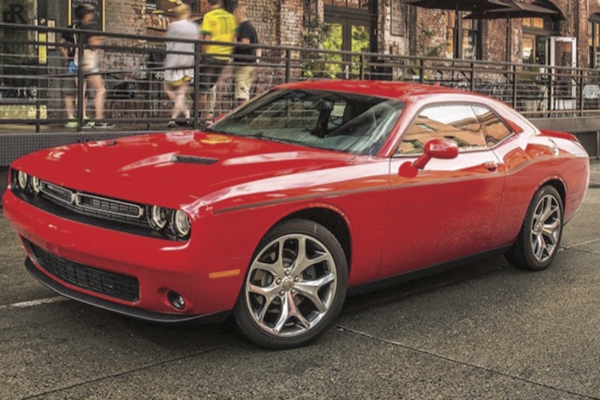 The current Challenger will be replaced by a smaller car with base-four-cylinder power. A version of the Hellcat model's 6.2-liter V-8 will likely return.