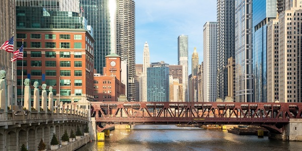 Large chicago river