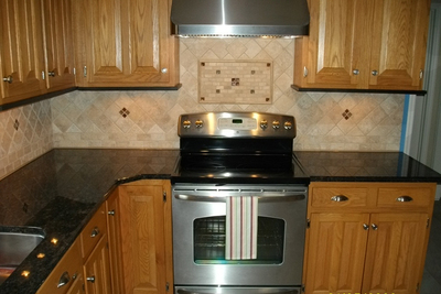 A good backsplash project can make a dramatic effect on the look of a kitchen.