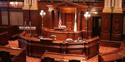 Illinois State Senate chambers