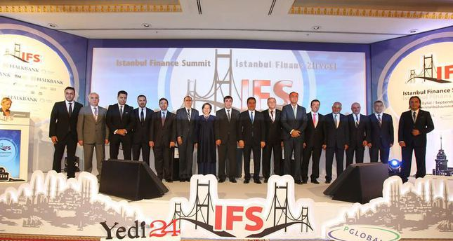 International financial leaders attended the fifth Istanbul Finance Summit this week.