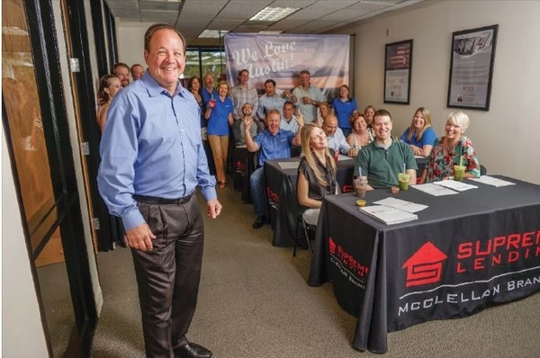 Supreme Lending's McClellan Branch Manager John McClellan is a respected industry trailblazer with 21 years in the home loan business.