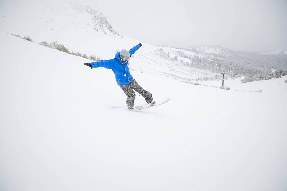 Powder is the preferred snow for most snowboarders.