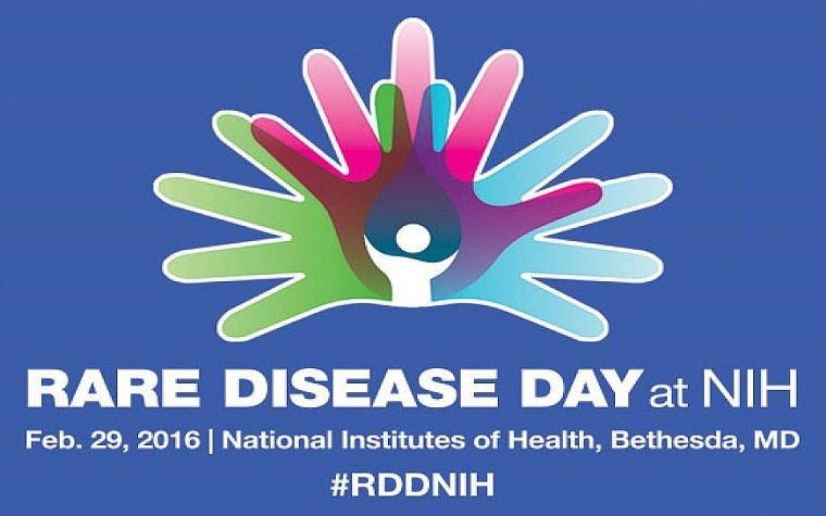 NIH will celebrate Rare Disease Day on Feb. 29.