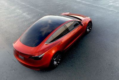 Deposit money taken -- $1,000 per buyer -- during the first couple of weeks for the Model 3 was about $400 million. Tesla predicts a $35,000 price with a battery range of about 200 miles.