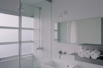Shower glass is more expensive than normal glass because of the manufacturing process.
