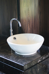 Replacing a lavatory sink with a vessel sink can be complicated, but doable.