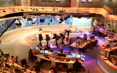 Al Jazeera America's newsroom