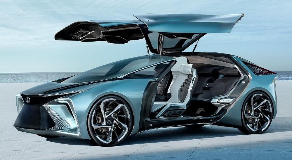 The Lexus LF-30 Electrified concept vehicle.
