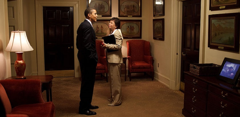 Laura Jarrett's mother, Valerie, served as Senior Advisor to Obama for his entire presidency.