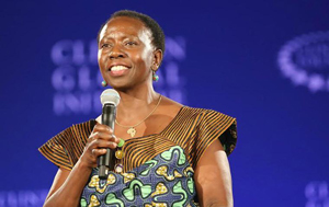 Musimbi Kanyoro, CEO of the Global Fund for Women, is set to speak at the Global Justice Symposium.