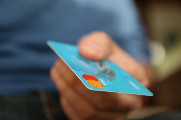 Large credit card