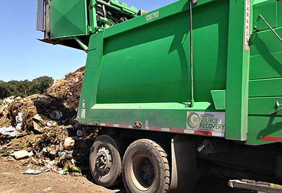 Organics By Gosh recycles tons of organic waste to make compost.