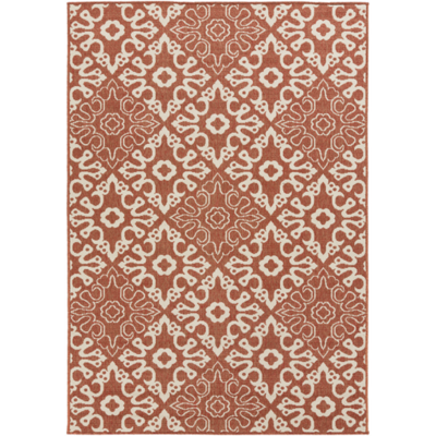 Anthony's Patio stocks a wide range of outdoor and indoor rugs, including the Alfresco rug from Surya.