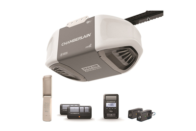 The CHamberlain C870 adds the garage door to the list of home amenities accessible on a smartphone.