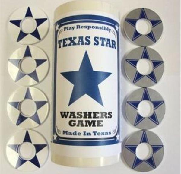 Bombat Washers Star of Texas Pitching Washers Set
