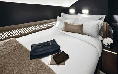 Etihad Airways will soon offer the world's first on-board apartment with butler service.