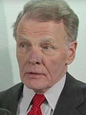 Illinois state House Speaker Mike Madigan during Dec. 6 press conference