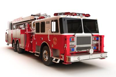 Medium shutterstock fire truck front angle