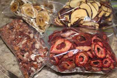 Dehydrated foods create concentrated flavors in a long-lasting form.