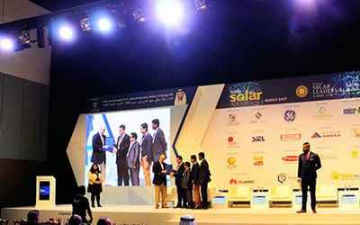 Dubai master's students receive award for sustainability project
