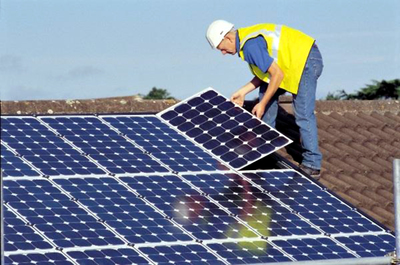 Solar panels are becoming a more popular energy source around the globe.